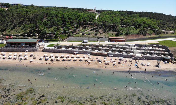 Elmasburnu plajı