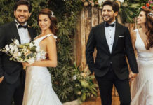 Begum Birgoren ile Mehmet Cemil evlendi