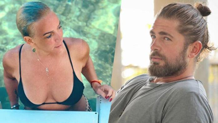 Saba Tumer'in bikinili pozuna Survivor Mert'ten yorum