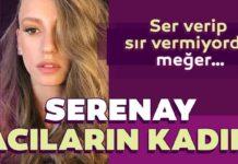 Serenay bombayi patlatti Serenay Sarikaya Acilarin kadini Bergen oluyor